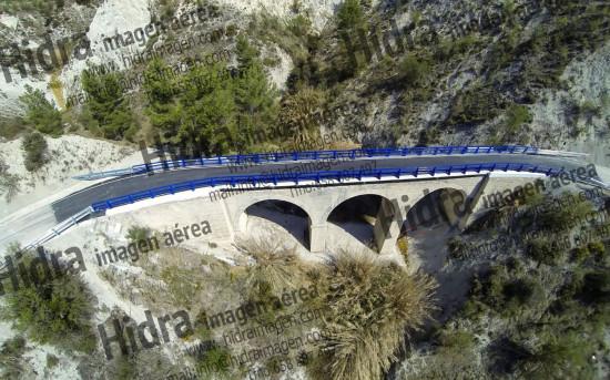 Reabilitación puentes en Gorga